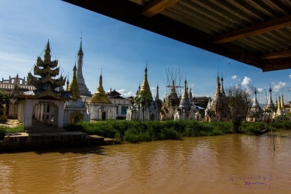 It's impossible to not come across a few pagodas as you travel through Myanmar